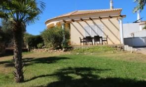 Maison mitoyenne T2 avec grand terrain proche Boliqueime