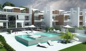 Terrain avec projet de construction de 6 villas jumelées