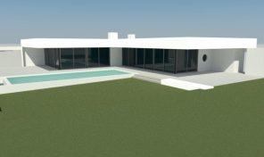 Villa contemporaine sur plan V3 avec garage à Lagos