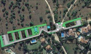 Terrain avec projet approuvé de logements pour retraités