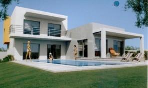 Villa neuve et moderne V4 avec piscine et garage à Alcantarilha