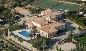 Superbe villa de prestige avec vues mer et golf en Algarve