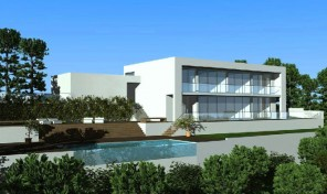 Terrain avec projet pour la construction d'une villa V6 à Albufeira