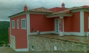 Villa V4 et annexe avec garage et vue mer à Loulé