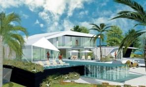Villa de luxe V4 ultra moderne à 150 mètres de la plage Salgados