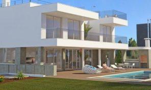 Villa V3 sur plan avec vue mer et proche plage à Lagos