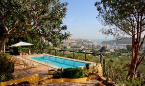 Villa plain pied V4 avec vue mer et 1 hectare à Albufeira