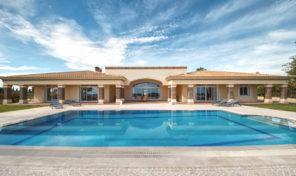 Villa de prestige V5 avec vue mer et grand terrain à Albufeira