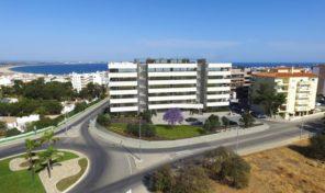 Appartements en construction avec vue mer à Lagos