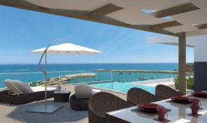 Appartements T3 de luxe à construire avec vue mer en Algarve