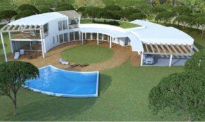 Villa V5 en construction à 400 mètres de la plage Salgados