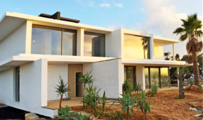 Villa ultra moderne V3 en construction en Algarve