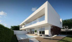 Villas modernes V4 sur plan proche plage et commodités à Lagos