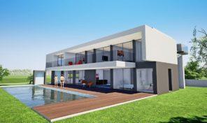 Villa de luxe V5 avec vue mer et à 750m de la plage