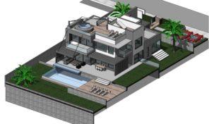 Villa V5 neuve à Vila Sol