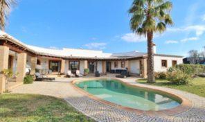 Villa V4 avec grand terrain à la campagne en Algarve Ouest