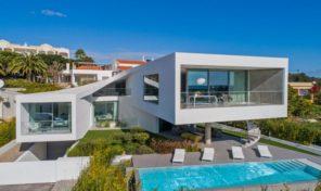 Villa ultra moderne V4 avec vue mer à Meia Praia