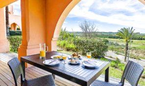 Luxueux appartements T2+1 avec grande terrasse et vue sur Golf