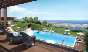 Appartements de luxe T2 en construction á Nazaré