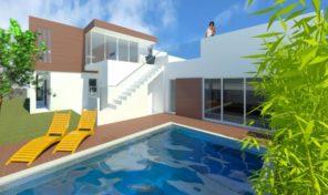 Maison avec projet approuvé proche plage à Praia da Luz