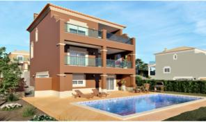 Villa sur plan V4 avec vue Golf et double garage à Lagos