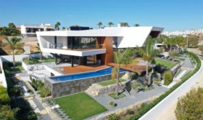 Villa neuve V4 vue mer dans quartier résidentiel de Lagos