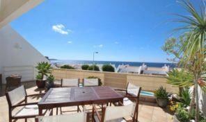 Villa jumelée V3+1 avec vue mer et piscine à Praia da Luz