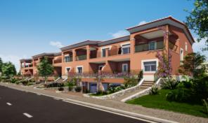 Maisons jumelées T4 avec garage dans complexe Golfique