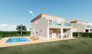 Villas V4 avec piscine privée et garage dans complexe de Golf