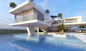 Villa en projet V4+1 avec vue golf proche Vilamoura