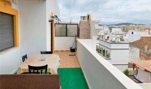 Appartement T2 dernier étage avec vue ville à Olhão