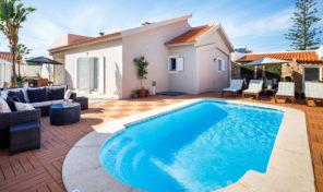 Villa plain pied avec garage V3 proche Albufeira