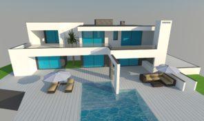 Villa moderne V3 garage et vue campagne proche Albufeira