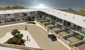 Villa jumelée V3 avec piscine privée et  garage à Olhos de Agua