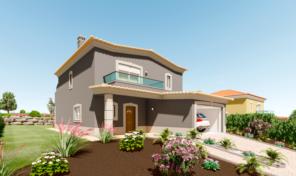 Villas en construction T3 avec garage dans golf proche Lagos