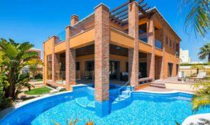Villa V4 contemporaine vue mer proche plage à Lagos