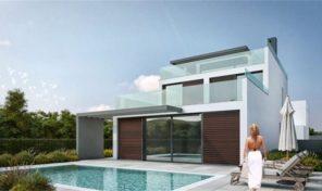 Villa neuve V3 avec jardin et piscine à Luz de Tavira