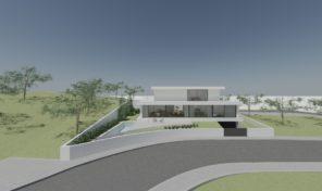 Villa V3 en construction avec garage à Albufeira