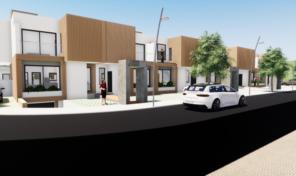 Villas jumelées en construction T2 à Odiáxere